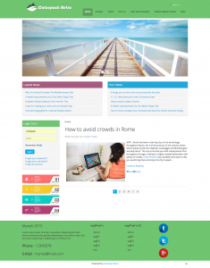 Colorpack Retro Free Joomla!  Template